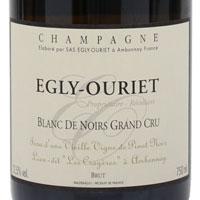 Egly Ouriet Brut Branc de Noir Grand Cru / エグリ・ウーリエ ブリュット・ブラン・ド・ノワール・グラン・クリュ