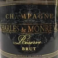 Charles de Monrency Brut Réserve / シャルル・ド・モンランシー ブリュット・レゼルヴ
