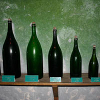 シャンパンのボトルサイズ