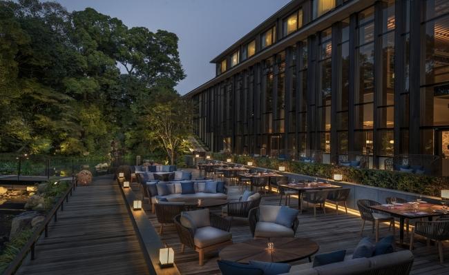 フォーシーズンズホテル京都で「ペリエ ジュエ シャンパンテラス」が期間限定開催